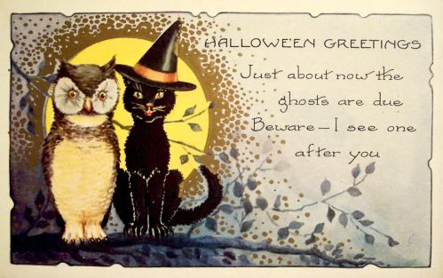 Medium Of Vintage Halloween Cards